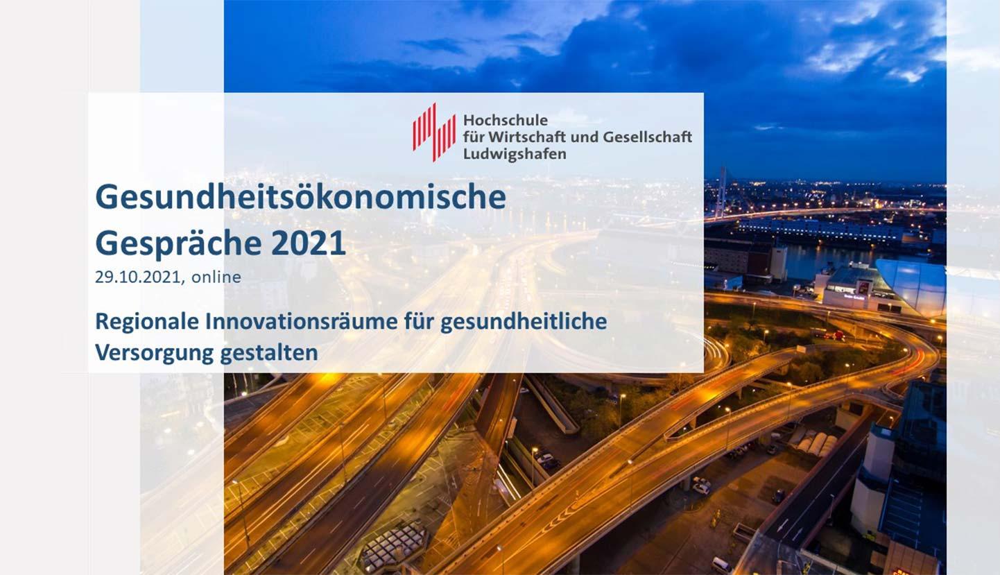 Gesundheitsoekonomische Gespraeche 2021